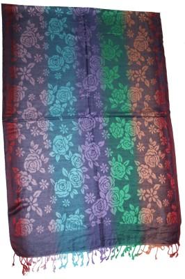 Shawls Of India Viscose Self Design Women's Shawl
