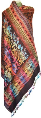 Wowdeal Viscose Floral Print Women's Shawl