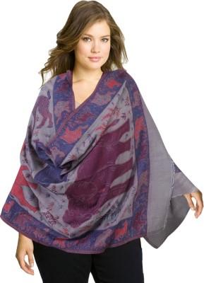 Super Drool Wool Self Design Women's Shawl