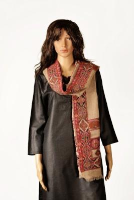 Kinari 05-B Pashmina Floral Print Women's Shawl