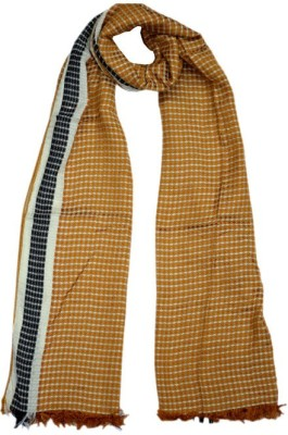 Parvin Polyester Wool Blend Checkered Women's Shawl