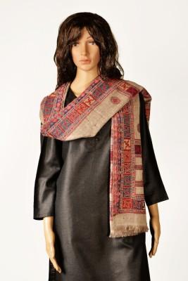 Kinari 05-A Pashmina Floral Print Women's Shawl