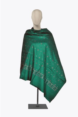 INDO ESSENCE Acrylic Woven Women's Shawl