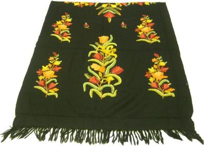 Sofias Wool Self Design Women's Shawl