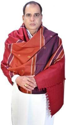 Ethnictreat Wool Checkered Men's Shawl