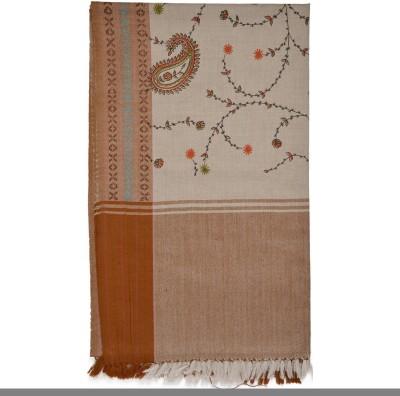 Btex Wool Self Design Women's Shawl