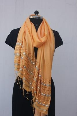 Ajooni Silk Embroidered Women's Shawl