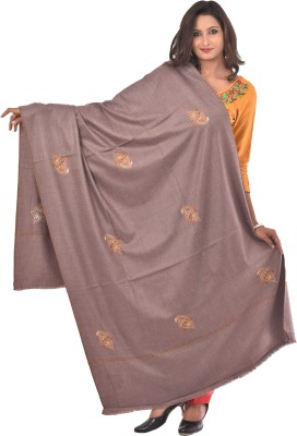 Weavers Villa Wool Embellished Womens Shawl