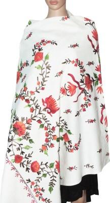 Indian Fashion Guru Cashmere Embroidered Women's Shawl