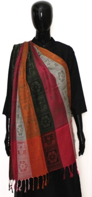STV Viscose Striped Women's Shawl