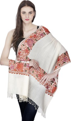 Shawl-e-Kashmir Wool Embroidered Women's Shawl