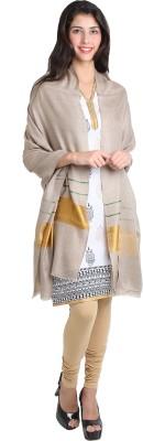 Kashmina Cotton Self Design Women's Shawl