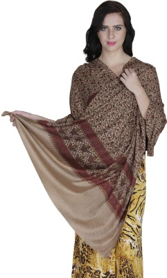 Royal-E-Kashmir Wool Floral Print Women's Shawl