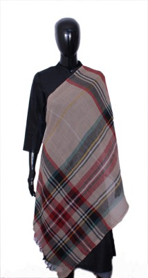 STV Wool Striped Women's Shawl