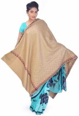 Ethnictreat Wool Checkered Women's Shawl