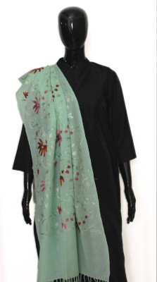 STV Wool Embroidered Women's Shawl