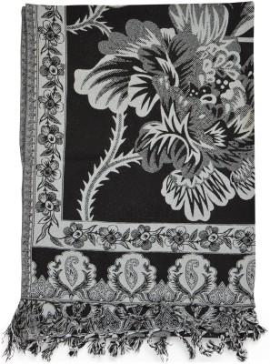 Btex Wool Printed Women's Shawl