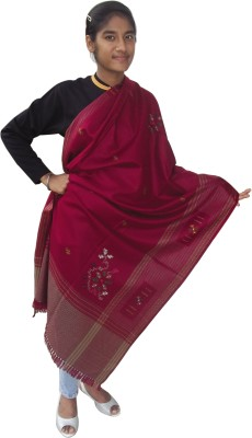 Japroz Wool Embroidered Women's Shawl