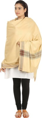 Hashcart Polyester, Viscose Embroidered Women's Shawl