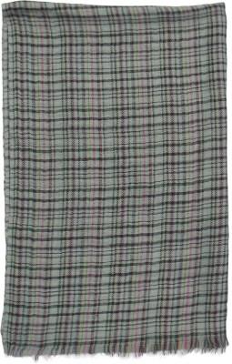 Shawls Of India Wool Checkered Men's Shawl