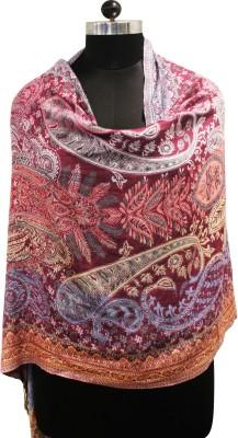 Belleziya Viscose Embroidered Women's Shawl