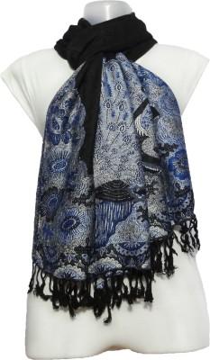 Muumuu Wool Animal Print Women's Shawl