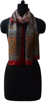 Vedic Deals Silk Floral Print Women's Shawl