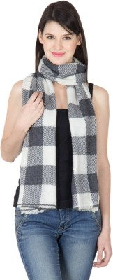 Shawl-e-Kashmir Wool Checkered Women's Shawl