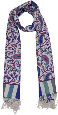 Shawls of India Viscose, Wool Printed Women's Shawl