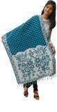 Unnati Wool Floral Print, Polka Print Wo...