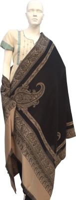 Jupi Wool, Pashmina Floral Print, Self Design Women's Shawl