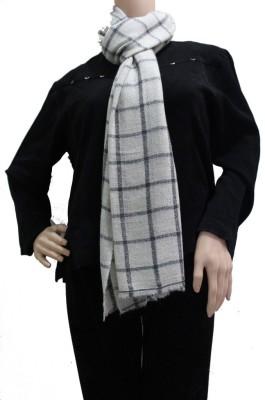 Matelco Cashmere, Wool Checkered Women's Shawl