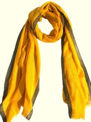 Lotusa Wool Solid Women's Shawl