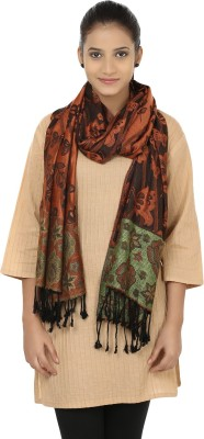 Figaro Stylish Classic Viscose Woven Women's Shawl