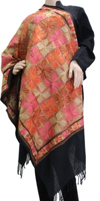 Matelco Wool Embroidered Women,s Shawl