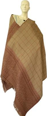 Jupi Pashmina, Wool Floral Print, Paisley, Checkered Women's Shawl