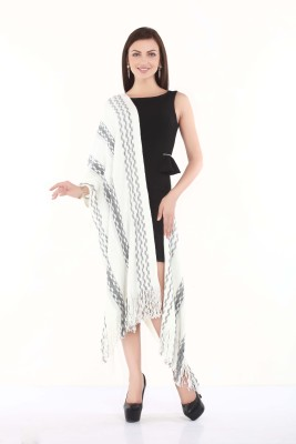 City chic Polyester Striped Women's Shawl