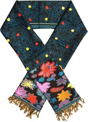 Excel Bazaar Wool Floral Print Women's Shawl