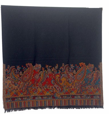 Shawls Of India Kani Palla Shawl Wool Printed Women's Shawl