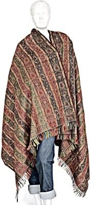 Ethnictreat Wool Floral Print Women's Shawl