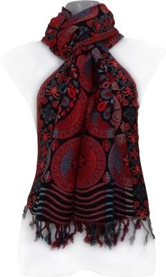 Muumuu Wool Floral Print Women's Shawl