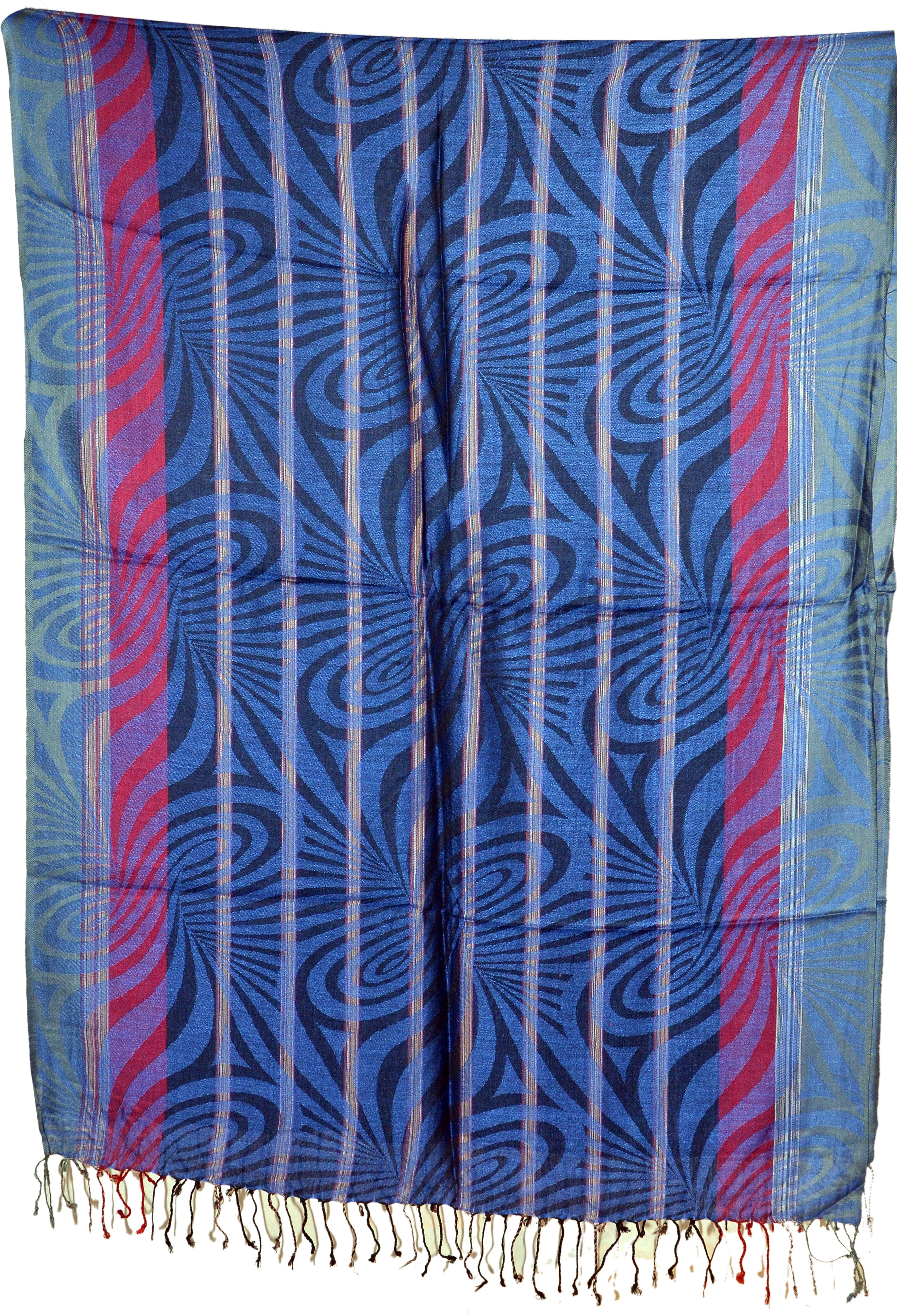 Cloud9Emporio Sat0070 Viscose Graphic Print Womens Shawl