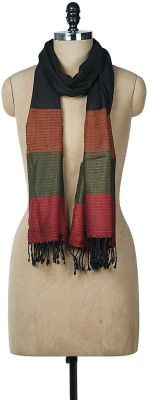 Wake Up Competition Viscose Striped Women's Shawl