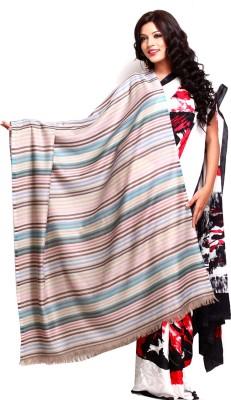 Aapno Rajasthan Pashmina Striped Women's Shawl