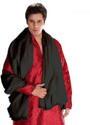Weavers Villa Wool Solid Mens Shawl