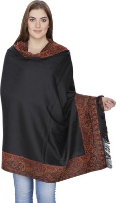Shawl-e-Kashmir Wool Self Design Women's Shawl