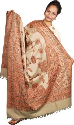 Gopal Cloth Designer Cashmere Self Design Women's Shawl