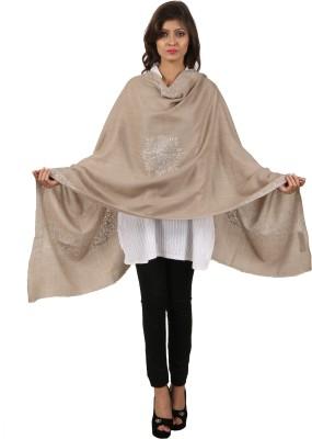 Kashmina Wool Embroidered Women's Shawl
