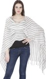 ROYAL KASHMIR Wool Striped Women's Shawl