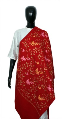 STV Acrylic Embroidered Women's Shawl